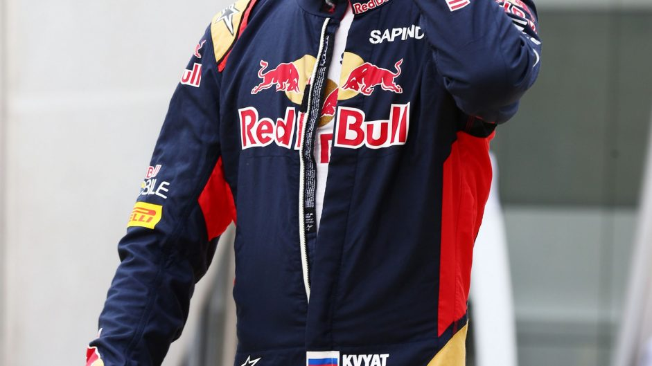 Daniil Kvyat, Toro Rosso, Silverstone, 2016