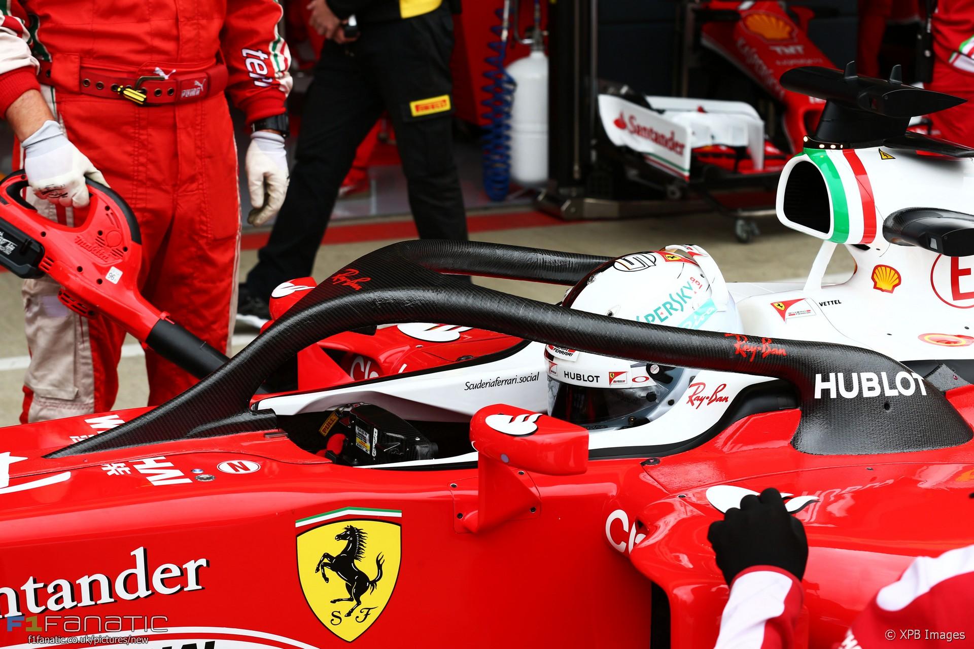 Sebastian Vettel, Ferrari, Silverstone, 2016
