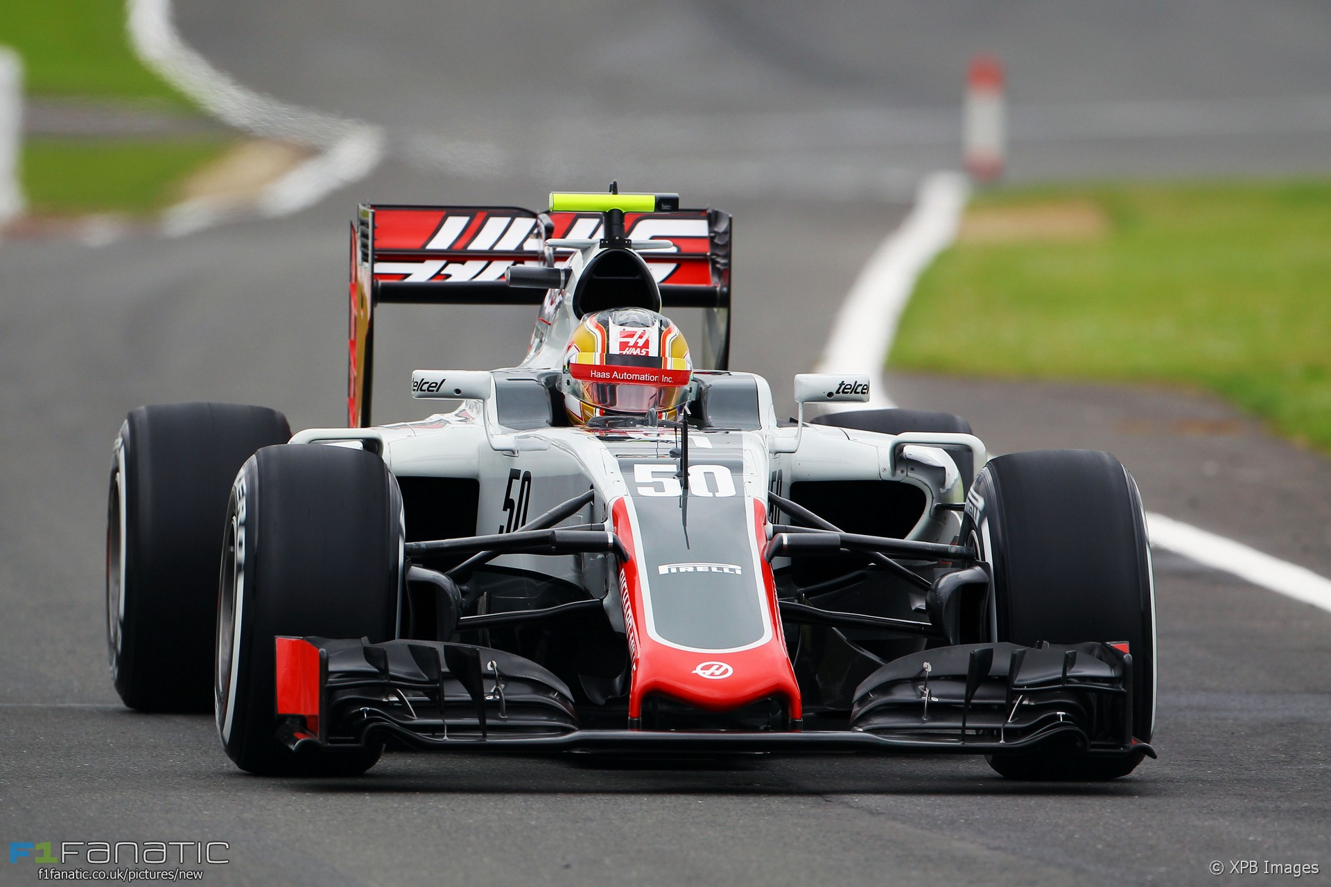 charles leclerc haas silverstone 2016 racefans. Black Bedroom Furniture Sets. Home Design Ideas