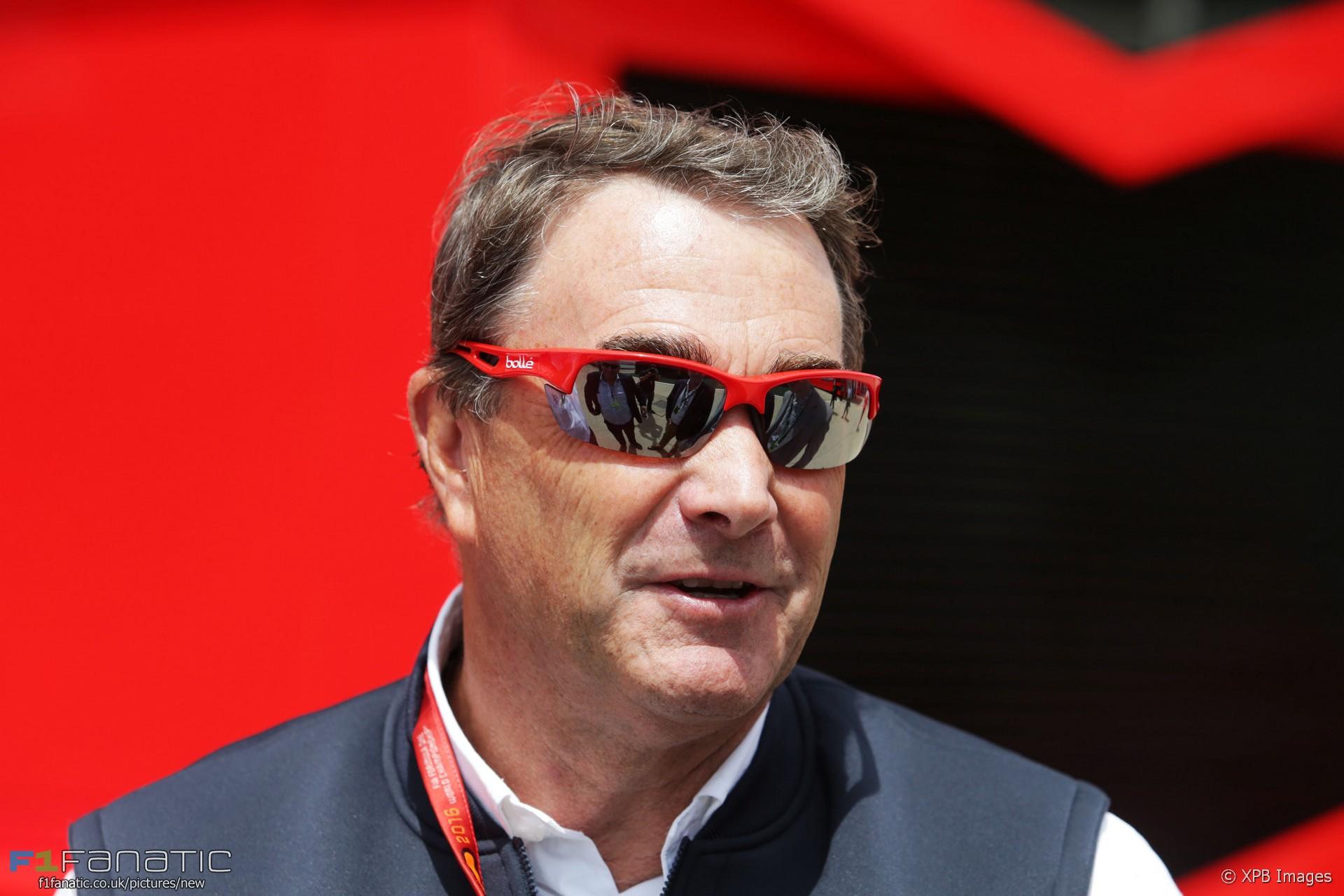 Nigel Mansell, Silverstone, 2016