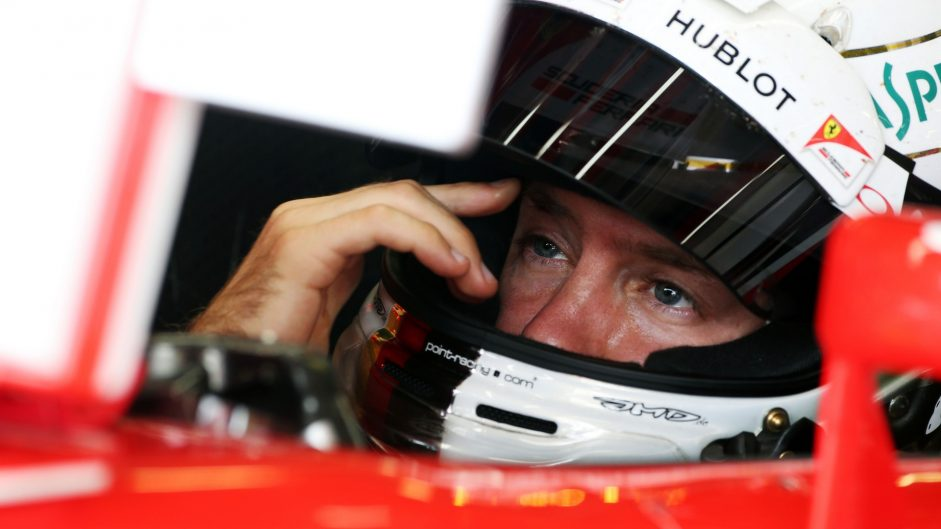 Vettel unhappy after receiving first penalty points