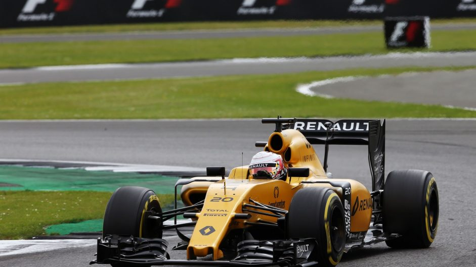 Kevin Magnussen, Renault, Silverstone, 2016