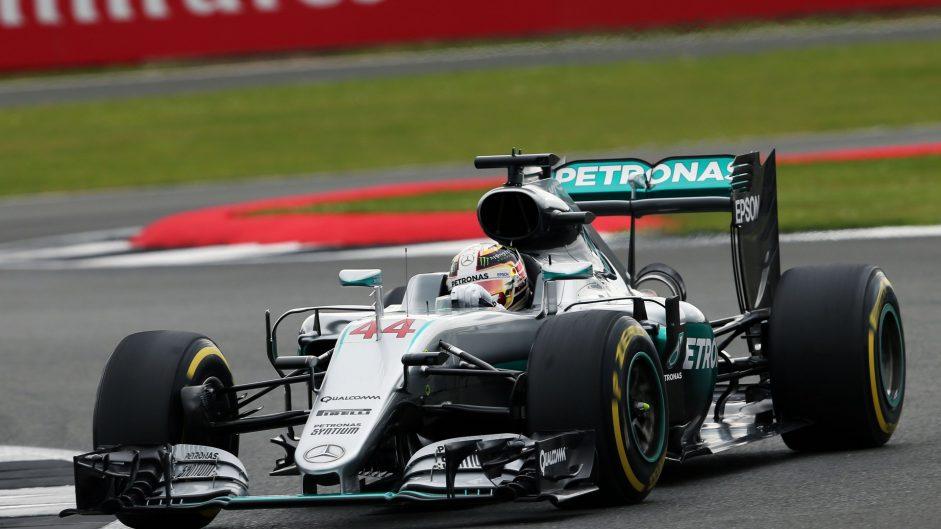 2016 British Grand Prix grid