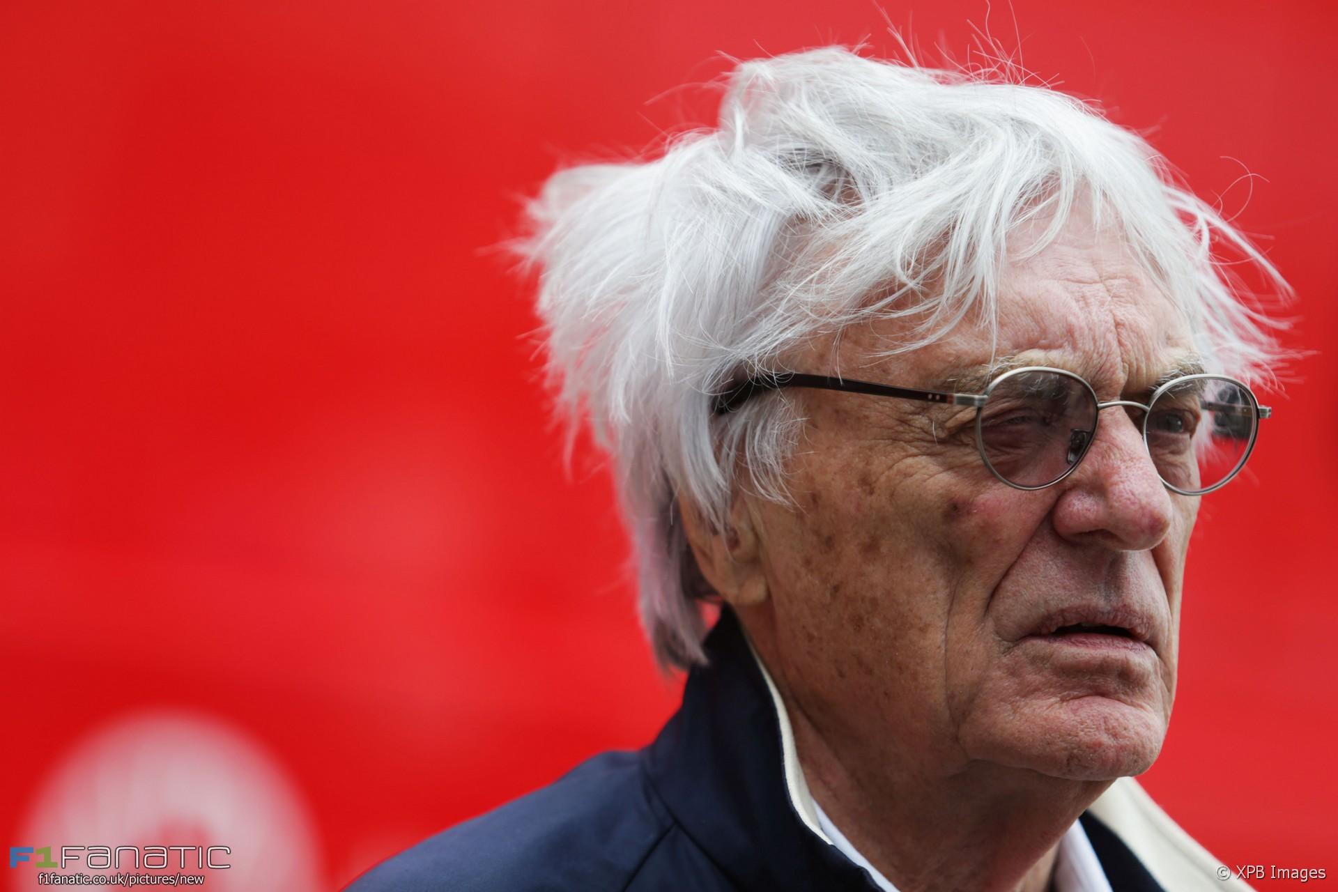 Bernie Ecclestone, Silverstone, 2016