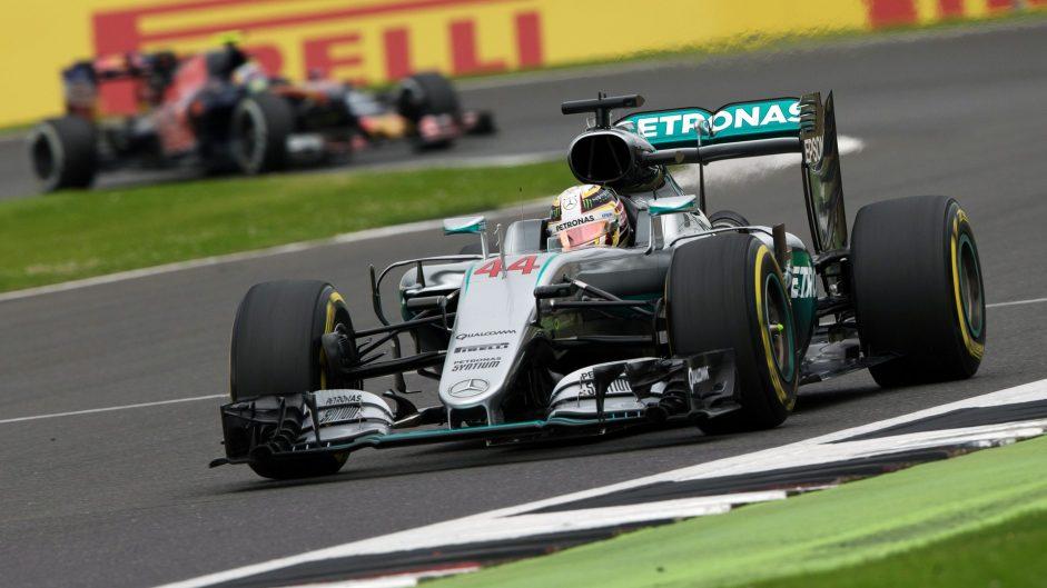 2016 British Grand Prix race result