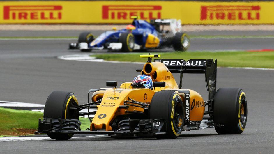 Jolyon Palmer, Renault, Silverstone, 2016