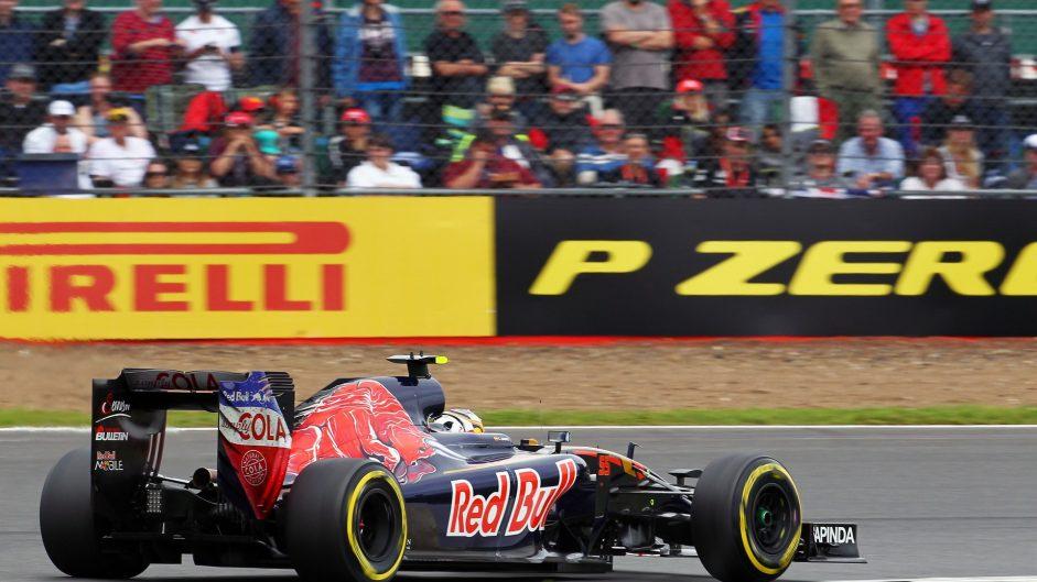 Carlos Sainz Jnr, Toro Rosso, Silverstone, 2016