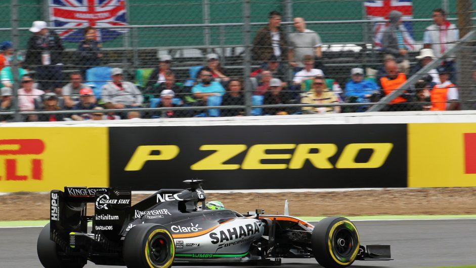 Nico Hulkenberg, Force India, Silverstone, 2016
