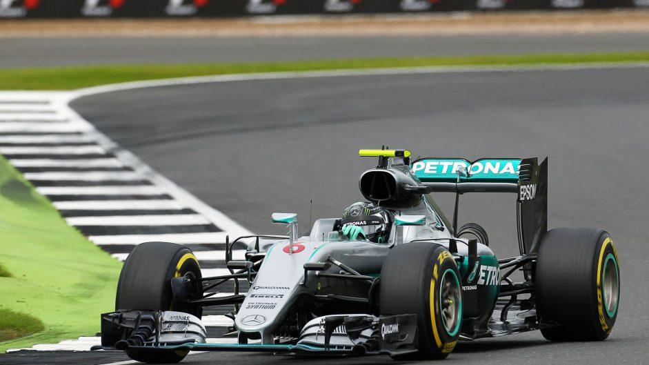 Nico Rosberg, Mercedes, Silverstone, 2016