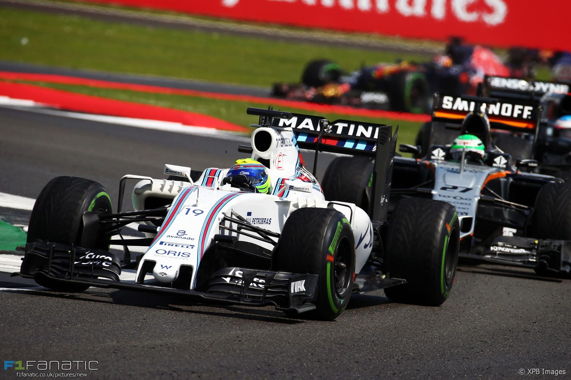 Felipe Massa, Williams, Silverstone, 2016