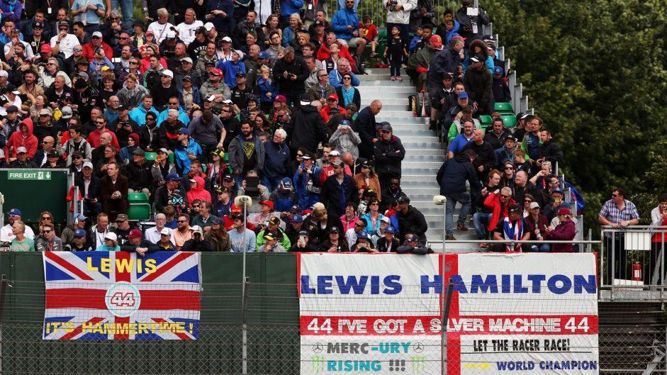 Fans, Silverstone, 2016
