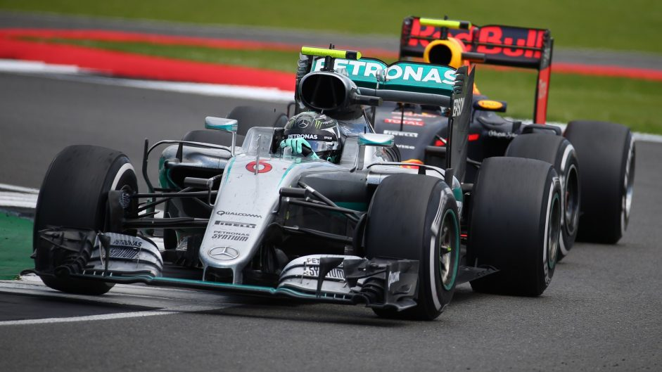 Rosberg relegated to third after radio penalty