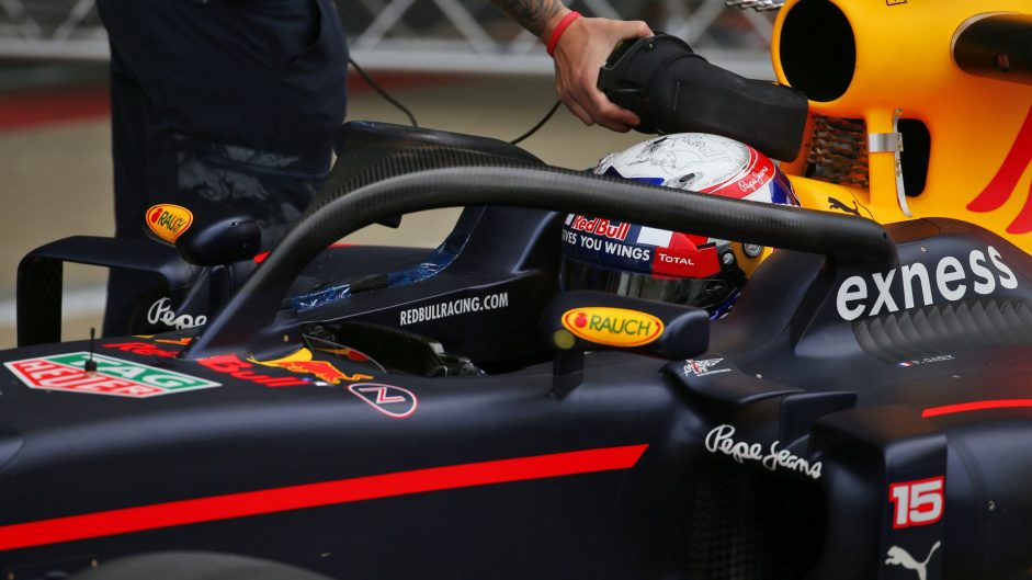 Pierre Gasly, Red Bull, Silverstone test, 2016
