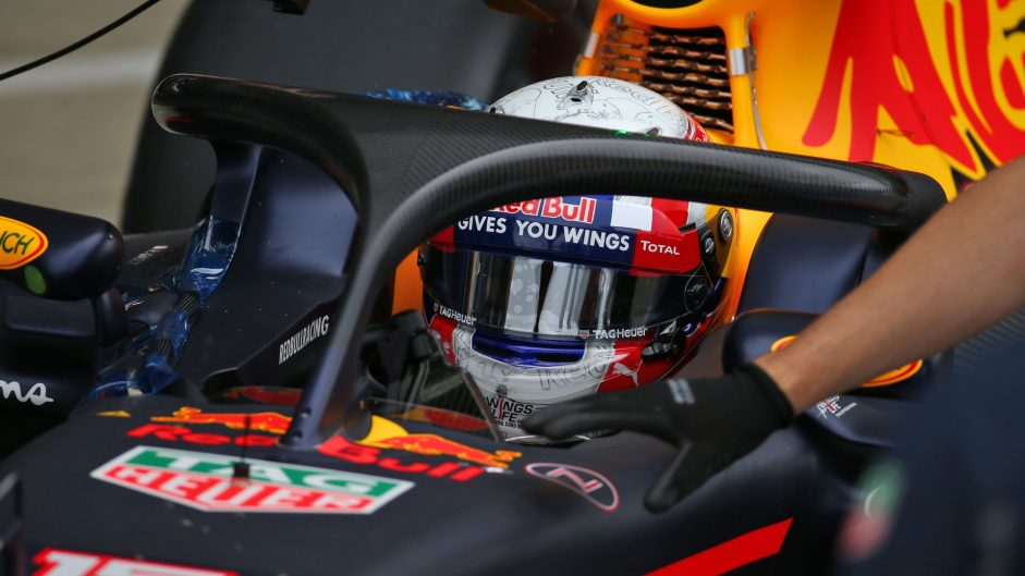 Pierre Gasly, Red Bull, Silverstone test, 2016