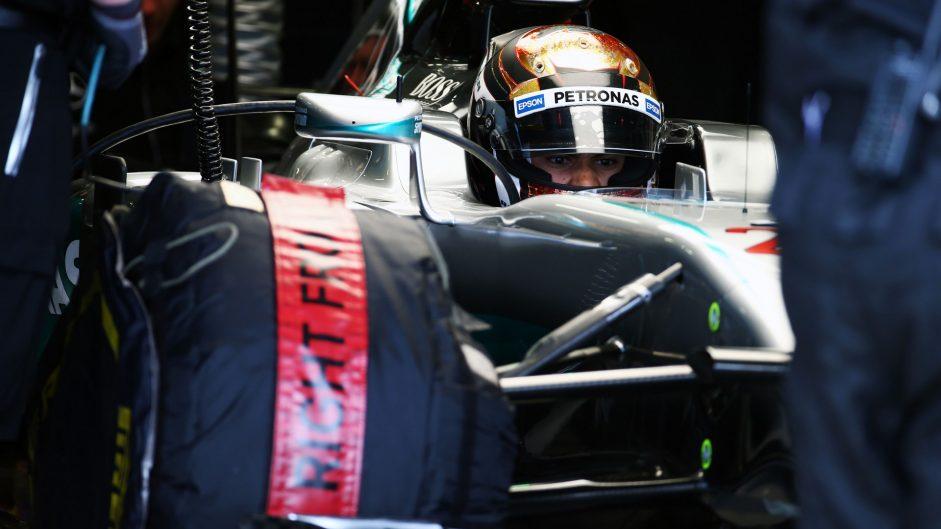 Pascal Wehrlein, Mercedes, Silverstone test, 2016