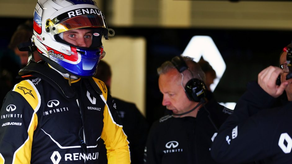 Sergey Sirotkin, Renault, Silverstone test, 2016