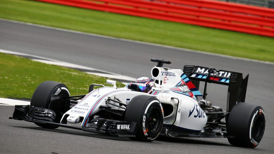 Alex Lynn, Williams, Silverstone, 2016