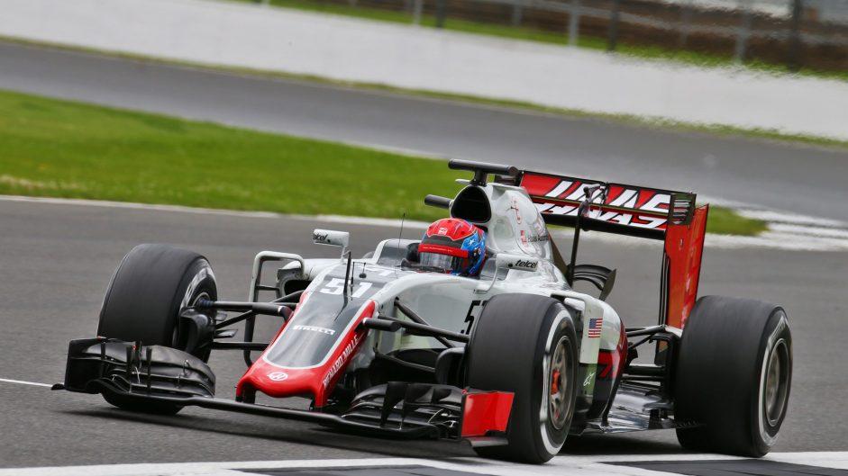 Santino Ferrucci, Haas, Silverstone, 2016
