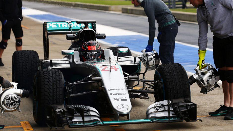 Esteban Ocon, Mercedes, Silverstone, 2016