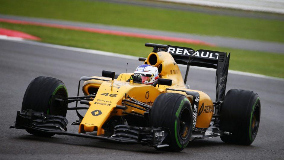 Sergey Sirotkin, Renault, Silverstone, 2016