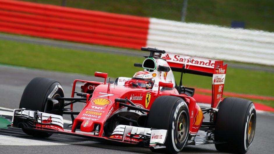 Raikkonen ahead on busy second day of test