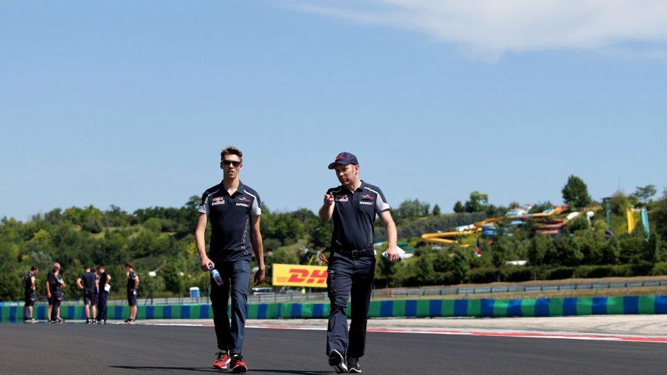Daniil Kvyat, Toro Rosso, Hungaroring, 2016