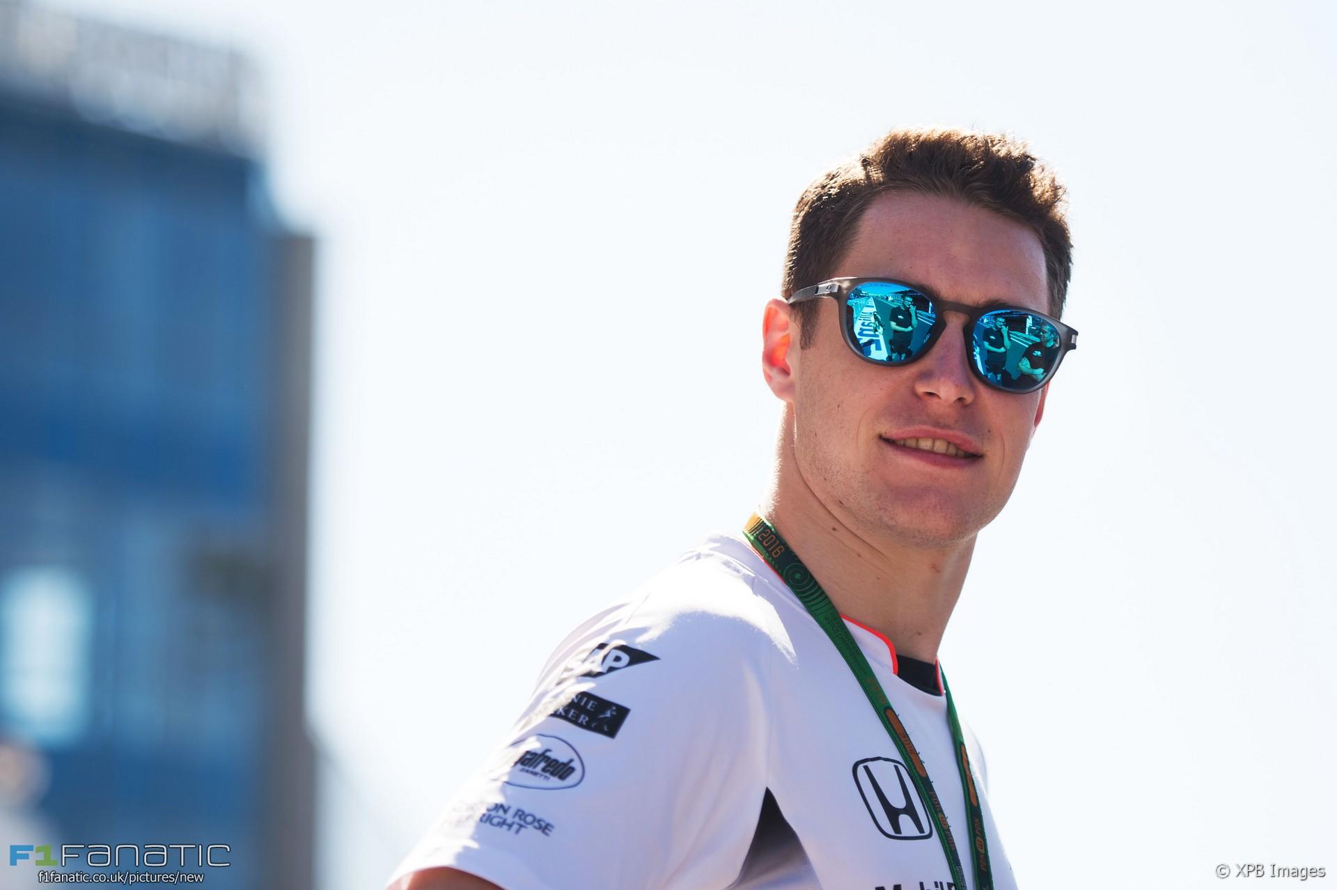 Stoffel Vandoorne, McLaren, Hungaroring, 2016