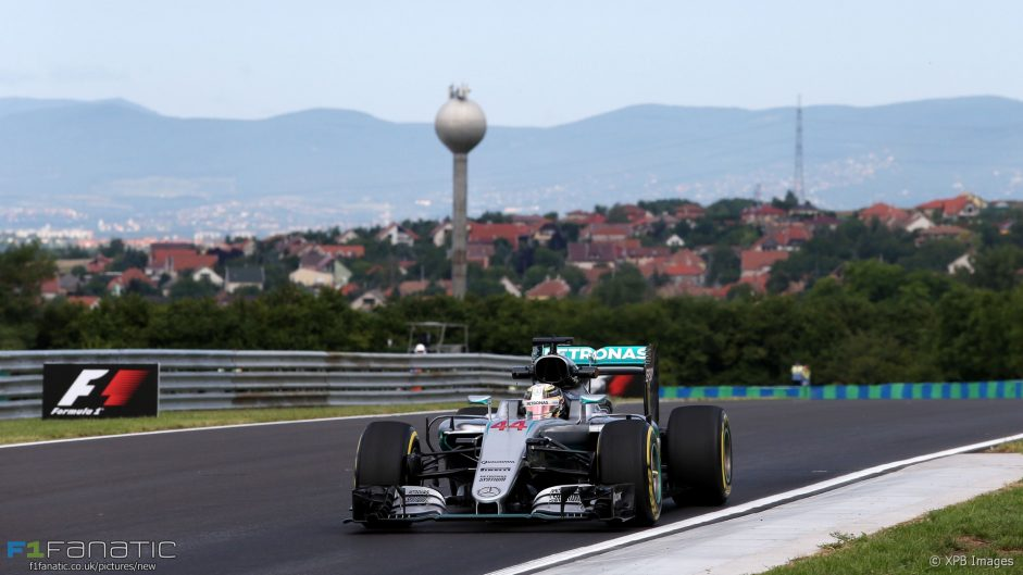 Mercedes ahead by a second and a half