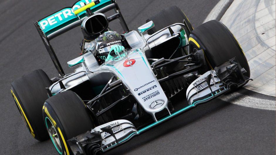 Rosberg fastest as Hamilton crashes out