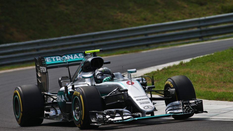2016 Hungarian Grand Prix grid