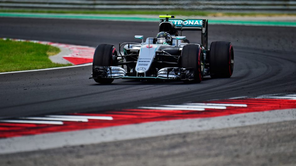 Rosberg fastest but Red Bull match Mercedes pace