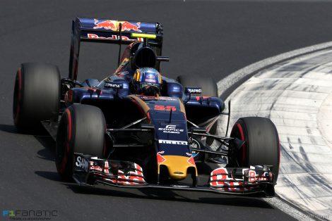 Carlos Sainz Jnr, Toro Rosso, Hungaroring, 2016