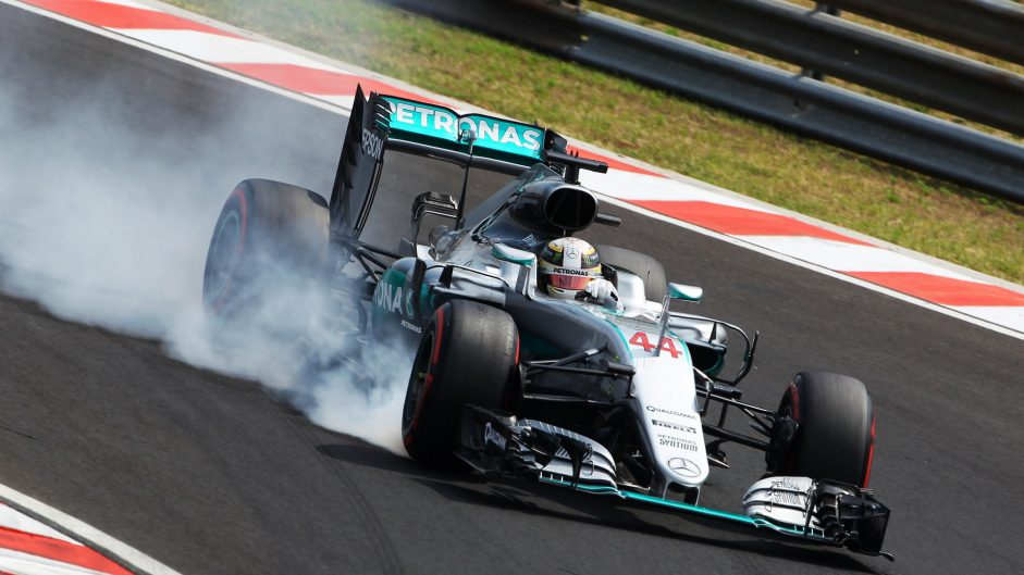 Hamilton has to fight from behind again