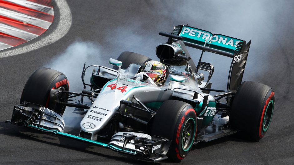 Hamilton takes second 15-place grid penalty