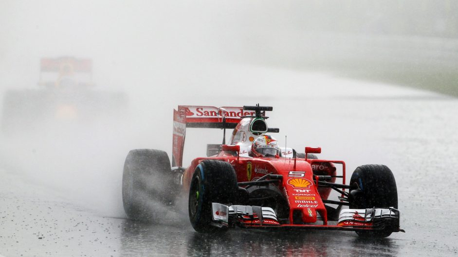 Vettel unhappy with Pirelli wet tyre performance