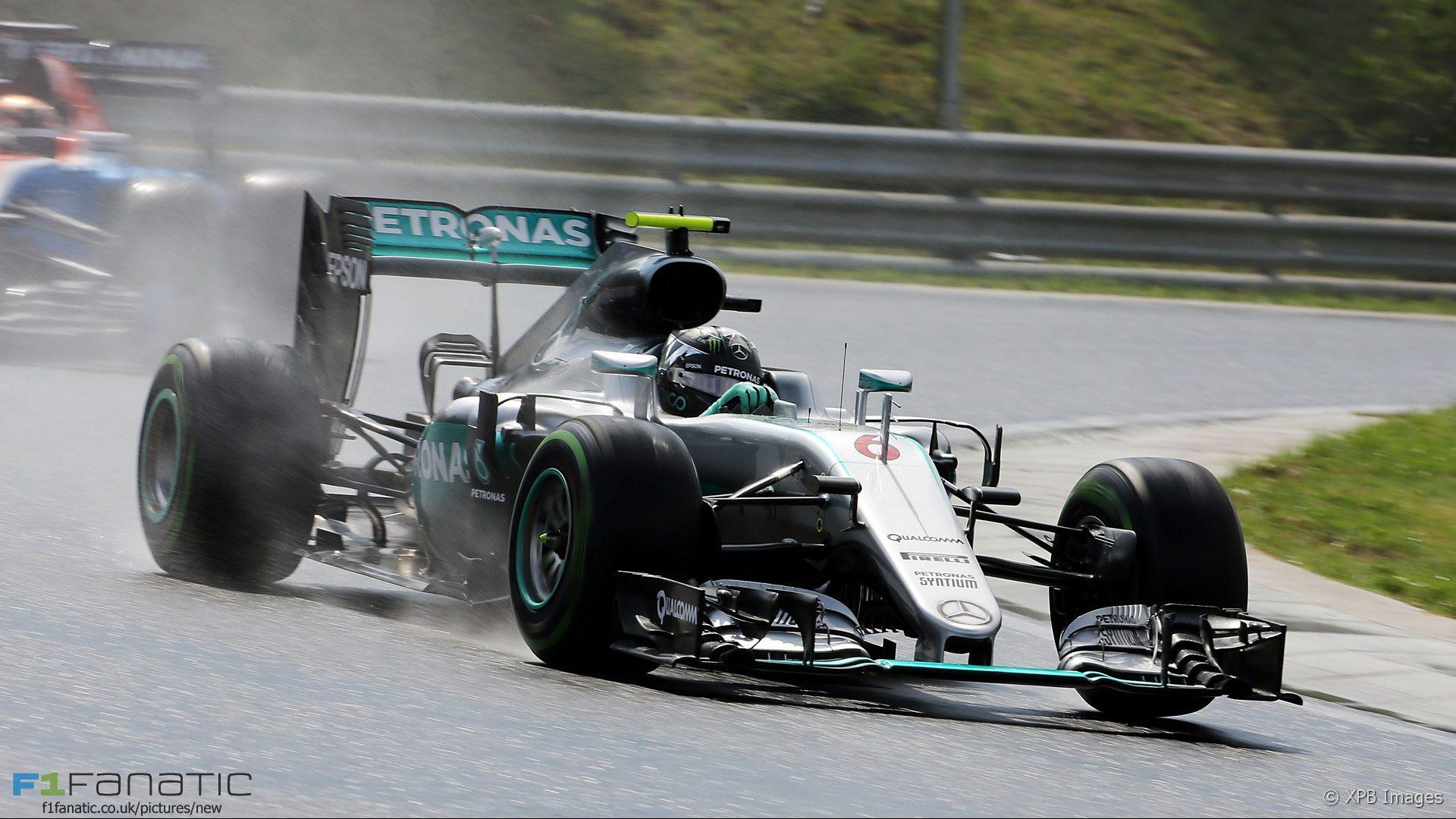 Nico Rosberg, Mercedes, Hungaroring, 2016