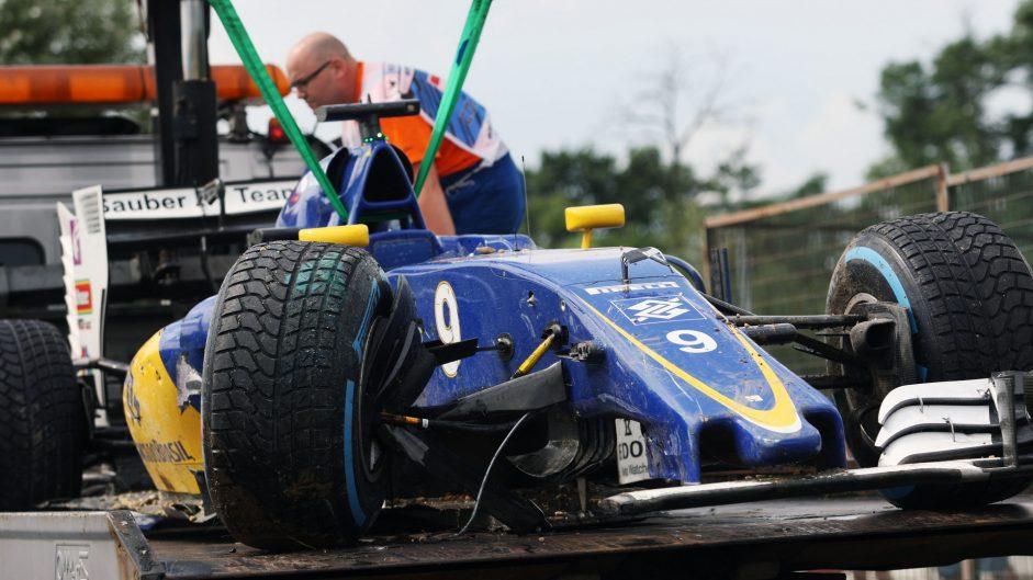 Marcus Ericsson, Sauber, Hungaroring, 2016