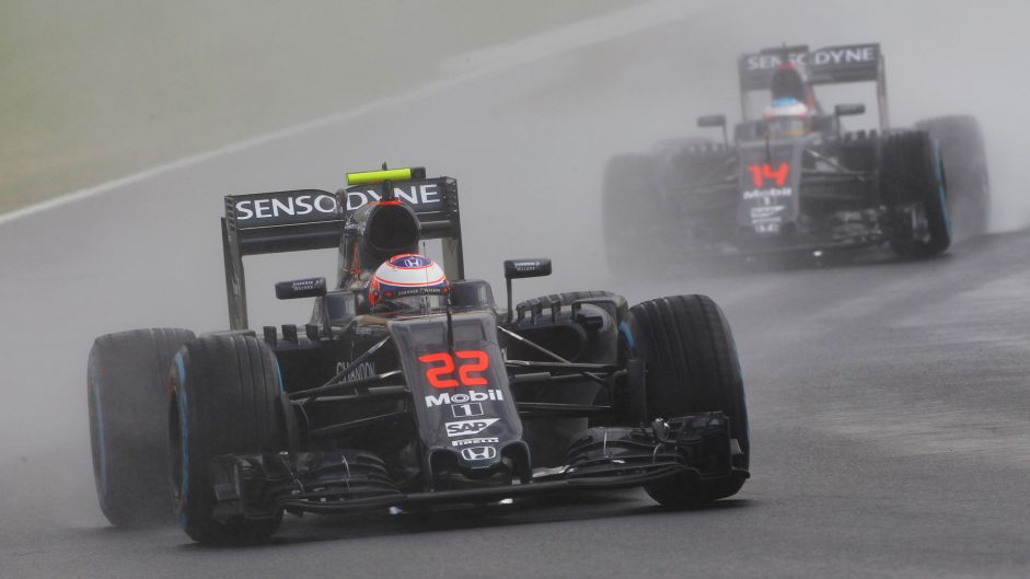 Button pleased but not content with fourth-row McLaren lockout