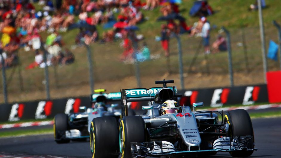 Hamilton dabs his way to championship lead in Hungary