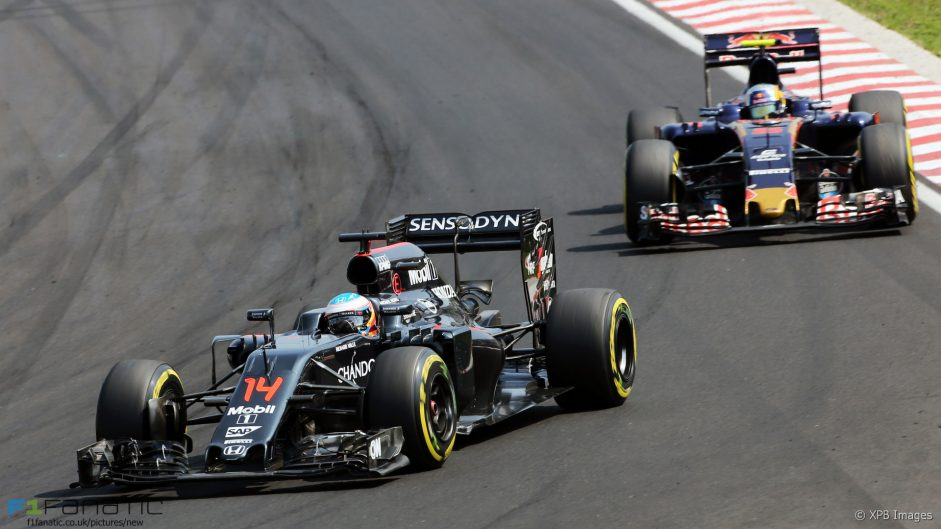 Alonso: McLaren were 'best of the rest'