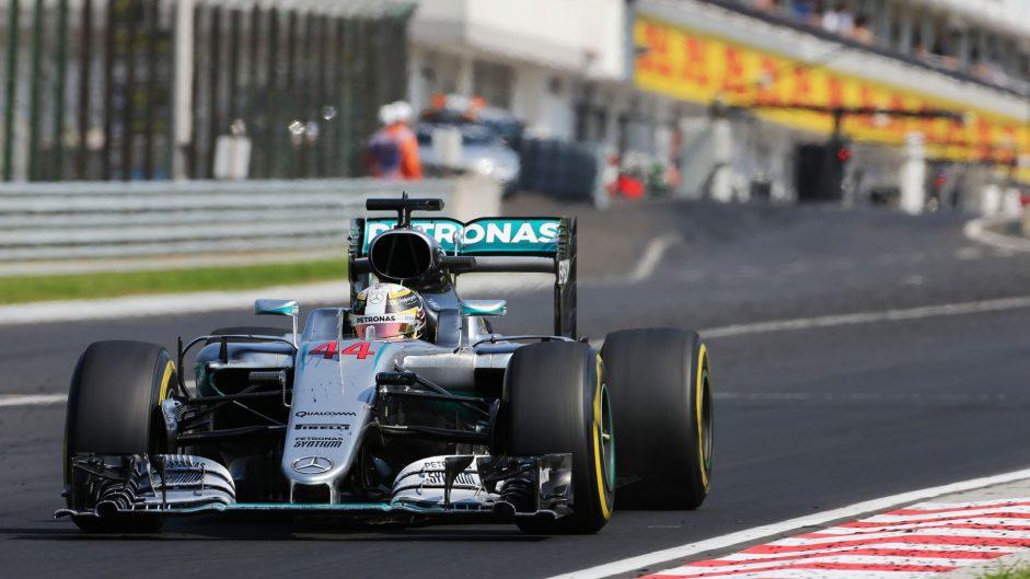 2016 Hungarian Grand Prix championship points