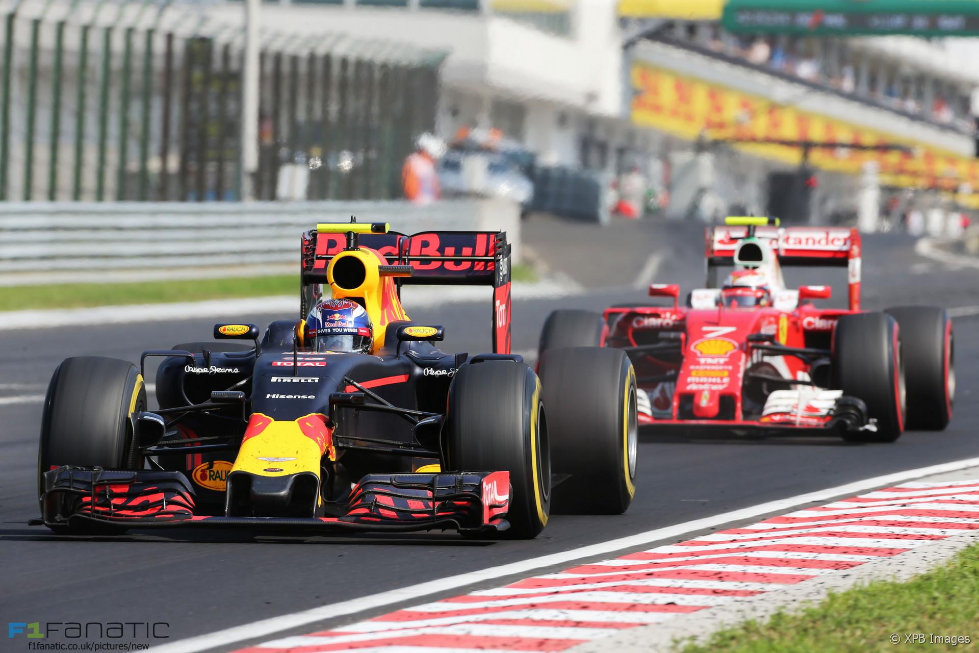 Max Verstappen, Red Bull, Hungaroring, 2016