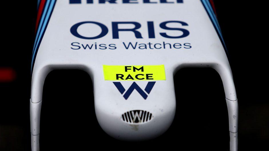 Williams, Hockenheimring, 2016