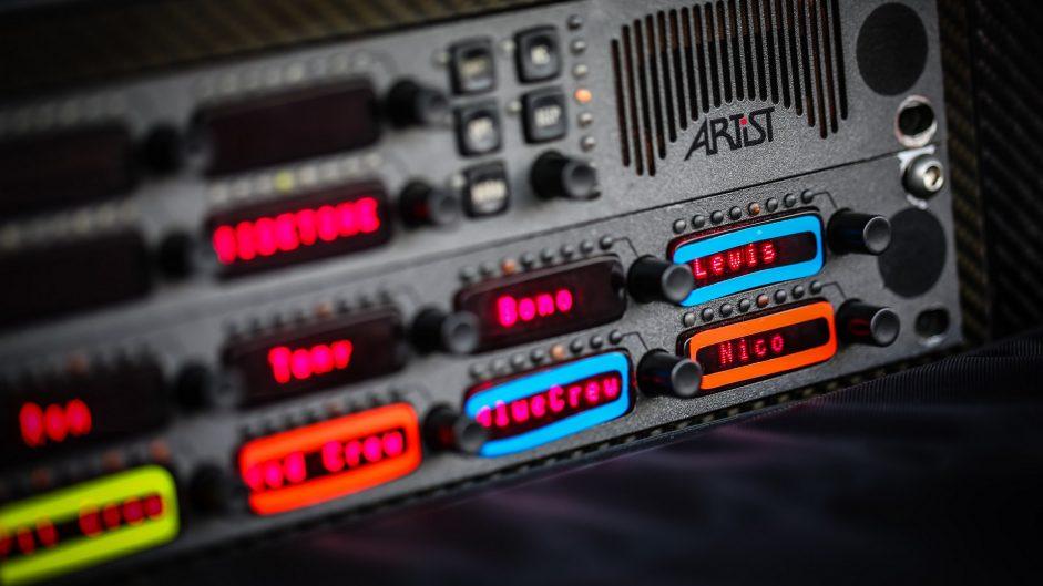 Radio buttons, Hockenheimring, 2016