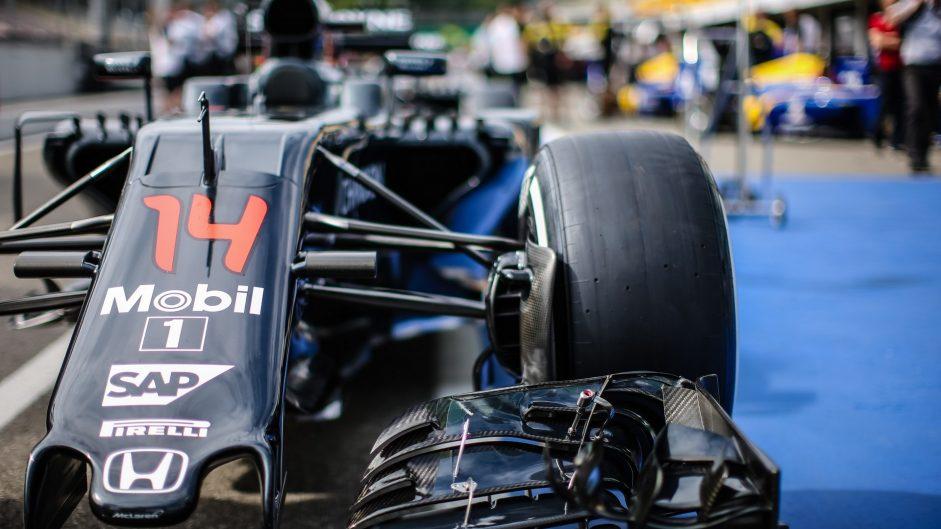 McLaren, Hockenheimring, 2016