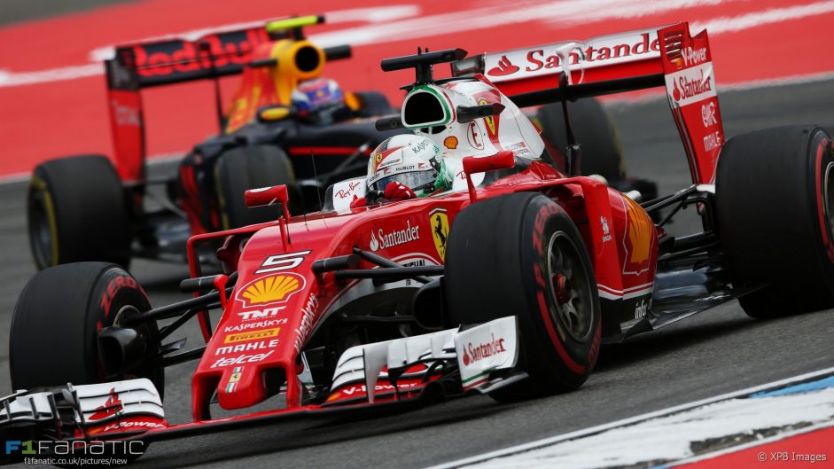 Sebastian Vettel, Ferrari, Hockenheimring, 2016