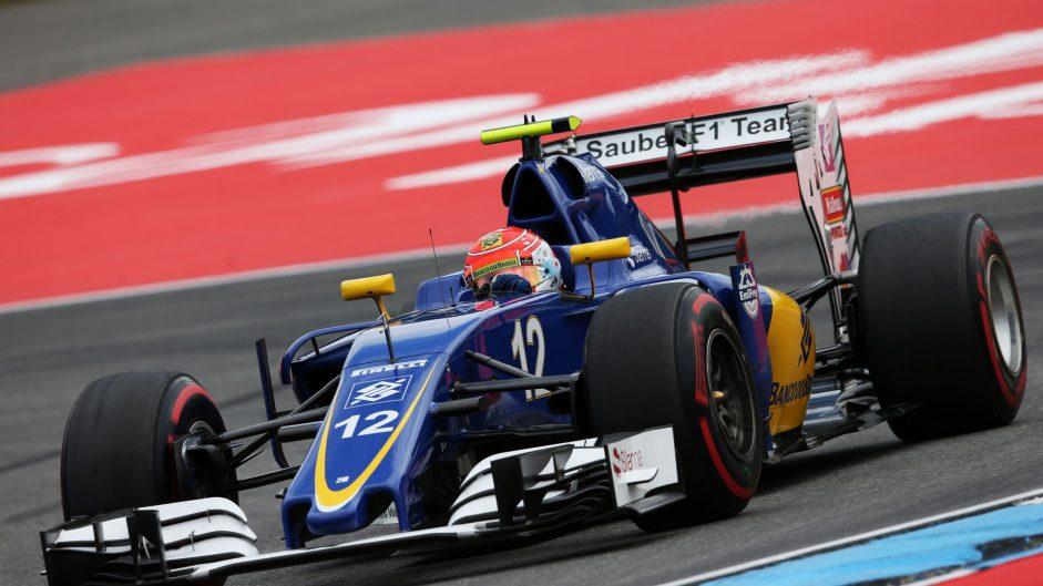 Felipe Nasr, Sauber, Hockenheimring, 2016