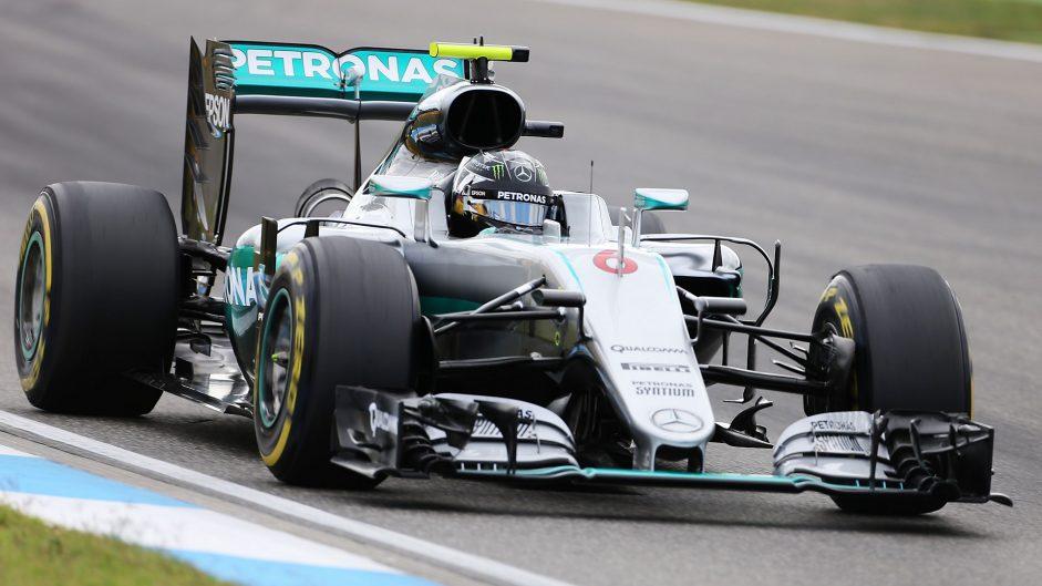 Rosberg heads Mercedes one-two as practice begins