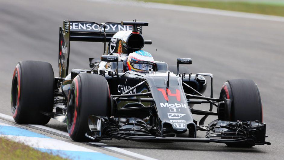 Fernando Alonso, McLaren, Hockenheimring, 2016