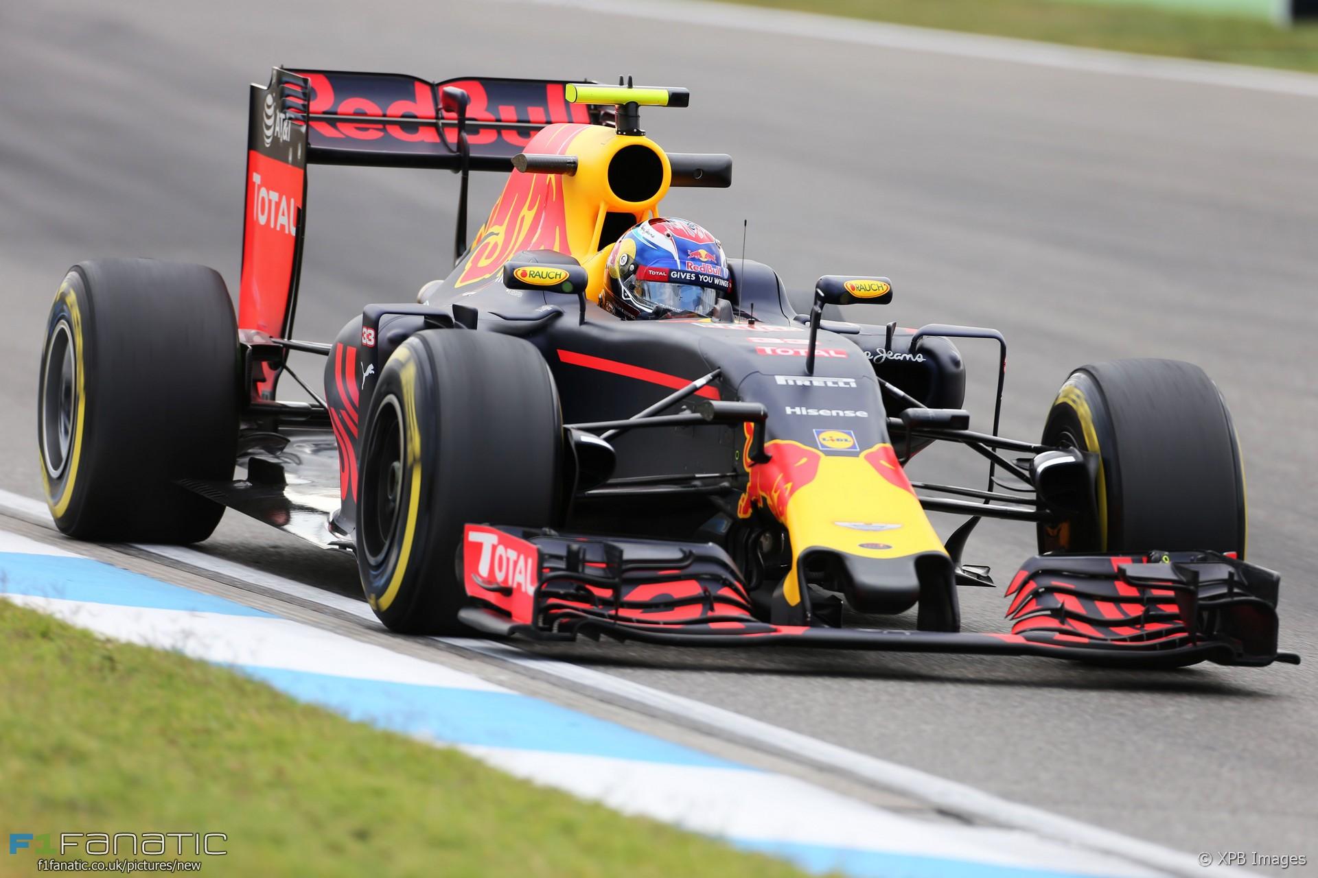 Max Verstappen, Red Bull, Hockenheimring, 2016 · F1 Fanatic